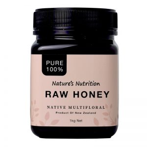 Nature's Nutrition Raw Honey 1kg Front-800x800