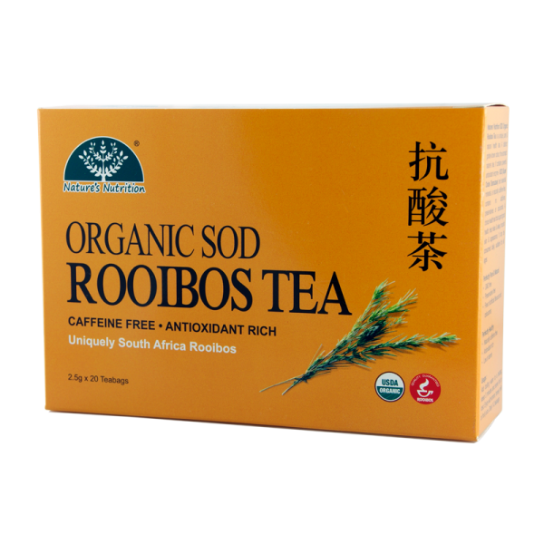Nature's Nutrition Organic Rooibos Tea 20 teabags