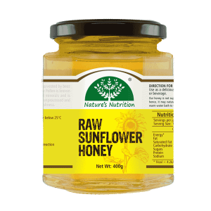 Nature's Nutrition Raw Sunflower Honey