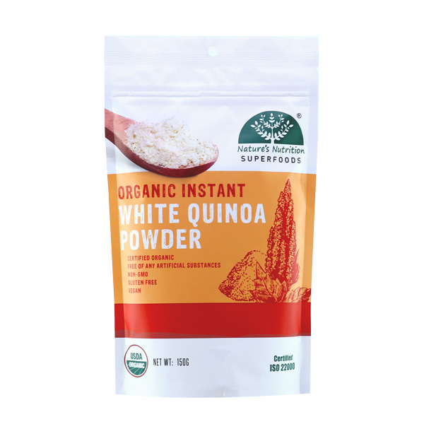 Nature's Nutrition Organic Instant White Quinoa Powder 150g