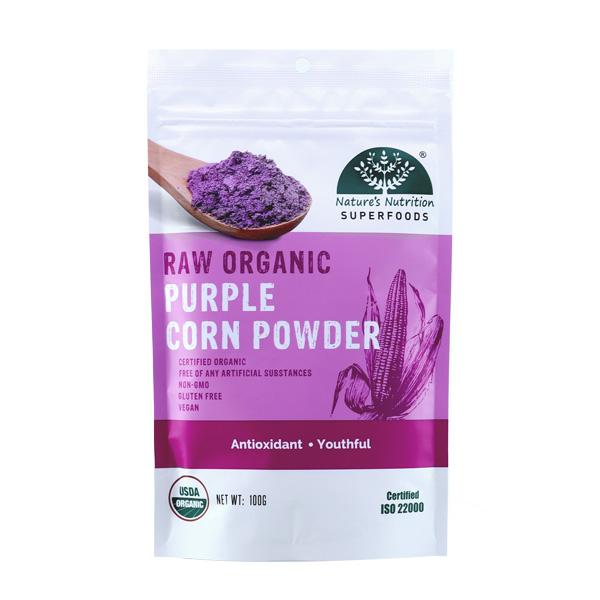 Nature's Nutrition Organic Purple Corn Powder 100g
