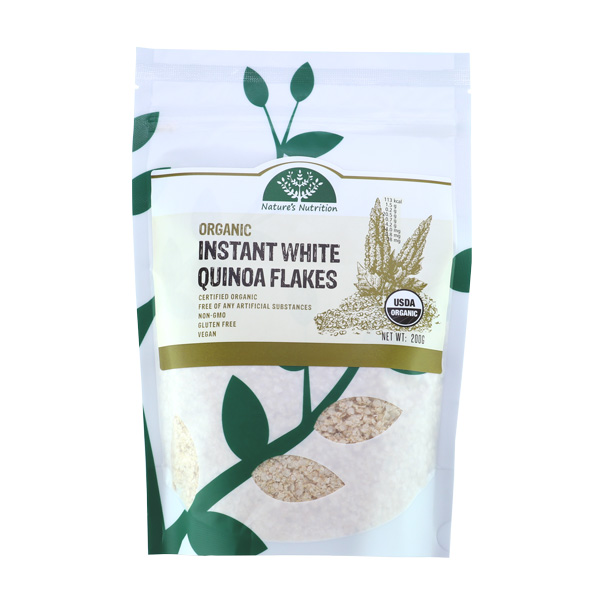 Nature's Nutrition Organic Instant White Quinoa Flakes 200g