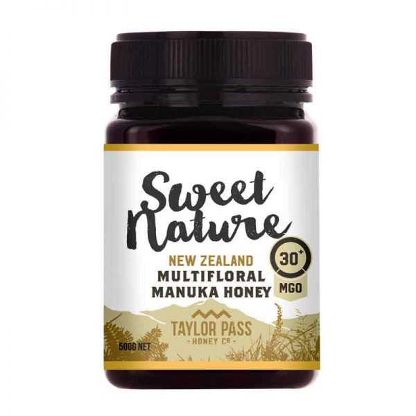Sweet Nature Manuka Honey MGO 30+ 500g