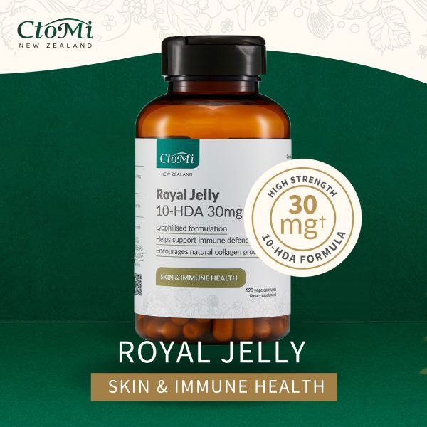 Ctomi Royal Jelly 10-HDA Supplement 120s