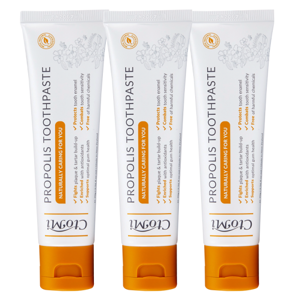 [Bundle of 3] Ctomi Propolis Toothpaste 70g