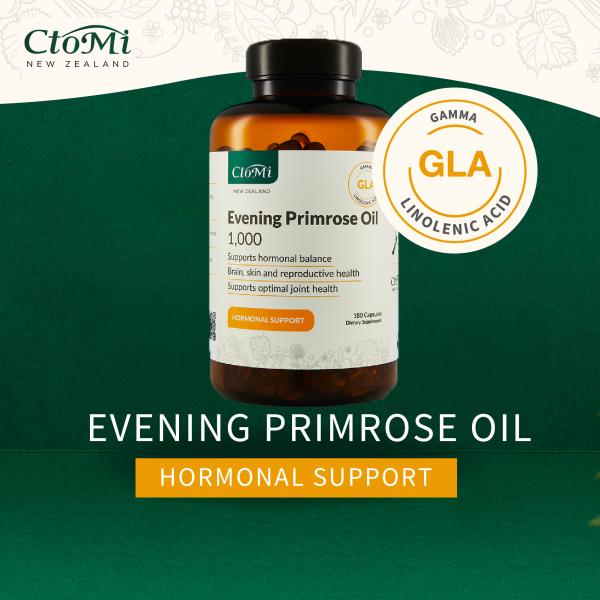Ctomi Evening Primrose Oil Supplement 180s