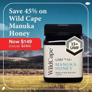 WildCape Manuka Honey UMF 15+ promotion Thumbnail