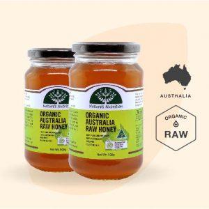 Nature's Nutrition Organic Australian Raw Honey 500g -50