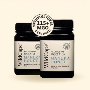 WildCape Manuka Honey MGO 115+ 500g-50
